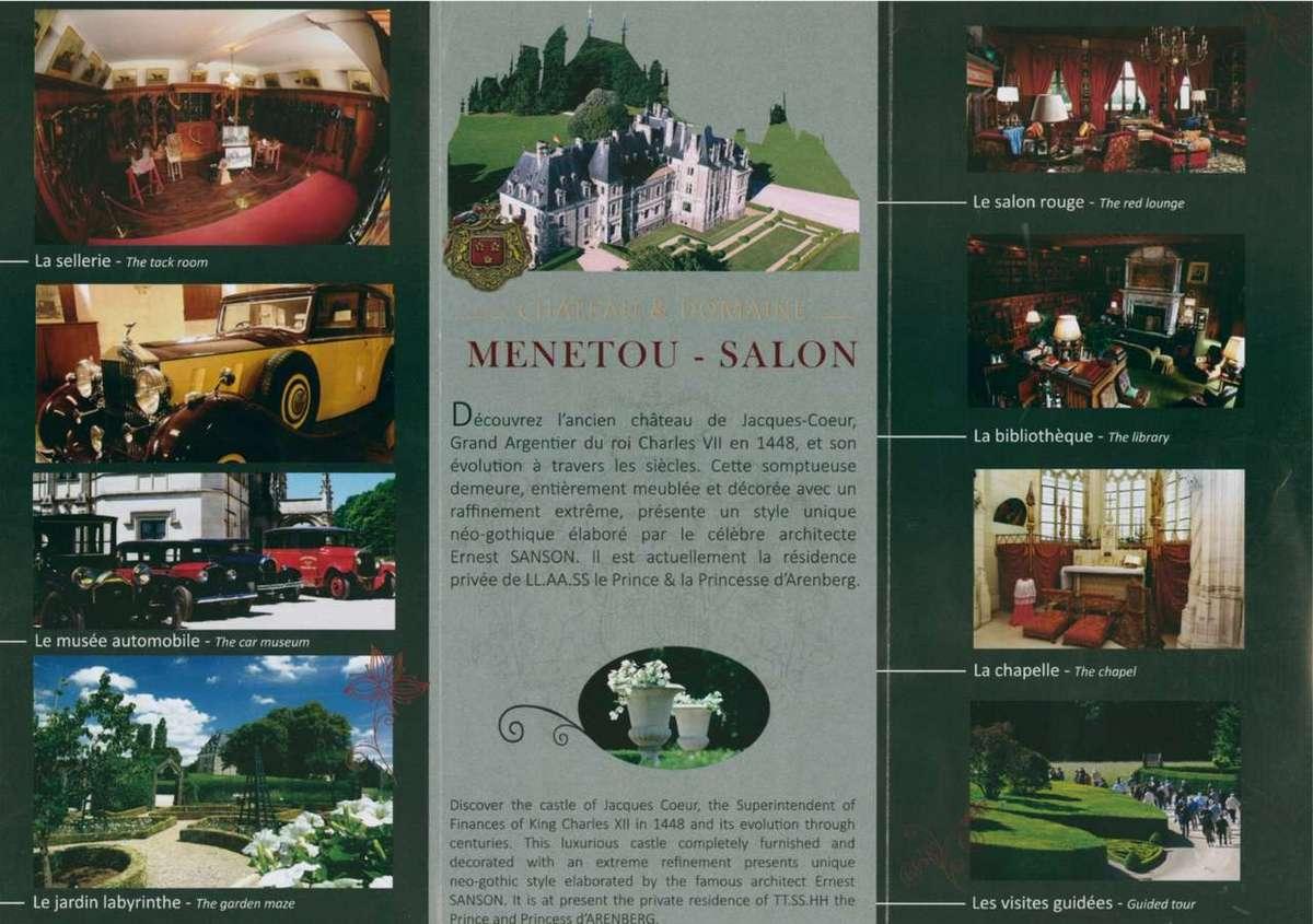 Le ch teau de menetou - Chateau de menetou salon visites ...